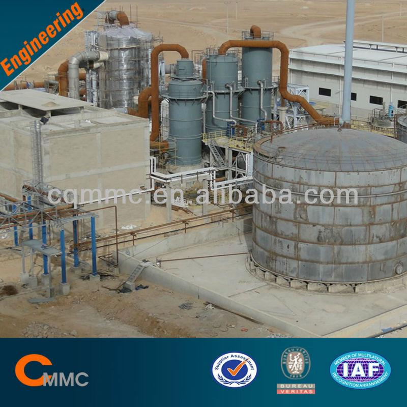 98% H2SO4 Sulfuric Acid Plant / Sulfuric Acid Production Line/98% Sulfuric Acid Equipment
