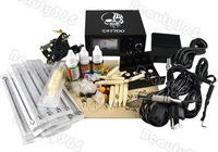 Комплект для татуировки Complete Tattoo Kit Machine Set Beginner 1 Gun Supply Equipment US Plug 2415