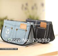 Розничная прекрасный джинсы дизайн холст карандаш сумка & дело/перо мешок 1pcs/lot