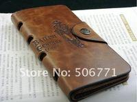 Кошелек Hot-sale Men's Coffee Leather Wallet Bifold Purse Notecase, fashion wallet#C526-76