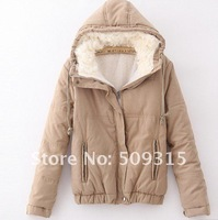 Free Shipping Fashion Women's Jackets Women 100%cotton  Coat Bomber Jacket size:XS/S/M/L/XL Free shipping