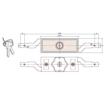 R02 Roll Up Garage Door Lock View Garage Product Details