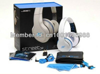 Free Shipping SMS STREET Audio street by 50 cent 7 kinds of color Classic Style wired Headphone Over-Ear Headphone