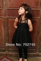 phelfish новый дизайн 13059 девочек платья детские одежду, которую девушка скольжения кружева платье сексуальные летние платья