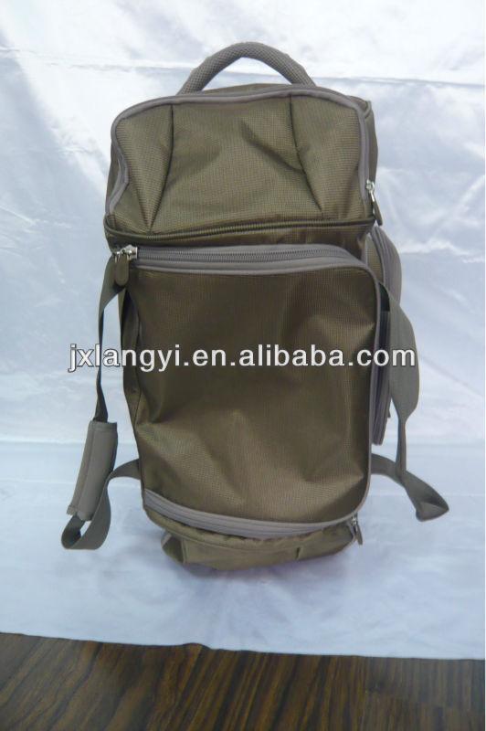 New design fashion Nylon trolley travel bag