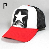 Free Shipping Korean Mesh cap truck cap baseball cap women men's sun hat