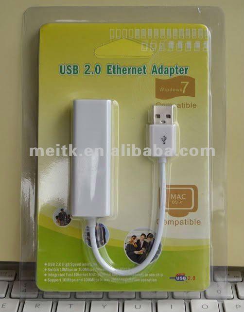 Best USB 2.0 RJ45 Lan Network Ethernet Adapter Card 10/100Mbps