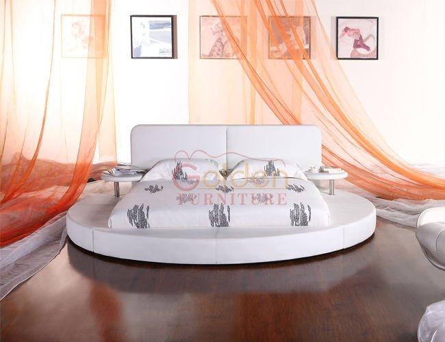 europa vendita calda moderno letto rotondo a6804 a forma di ...