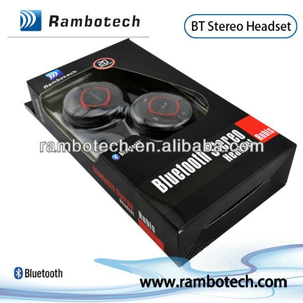 Bluetooth Headset - Retail Packaging - Black, cheap wireless accessories