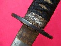 HAND-FORGED JAPANESE FOLDED SAMURAI SWORD WARRIOR KATANA-HANDMADE LACQUER SAYA