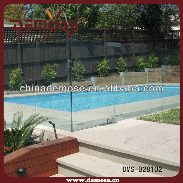 Portable artificial swimming pool waterfall table prices buy portable pool table swimming pool - Advantage using tempered glass fencing swimming pool balcony deck ...