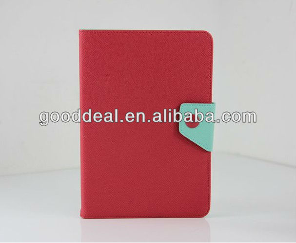 for ipad mini case with button,leather case for ipad