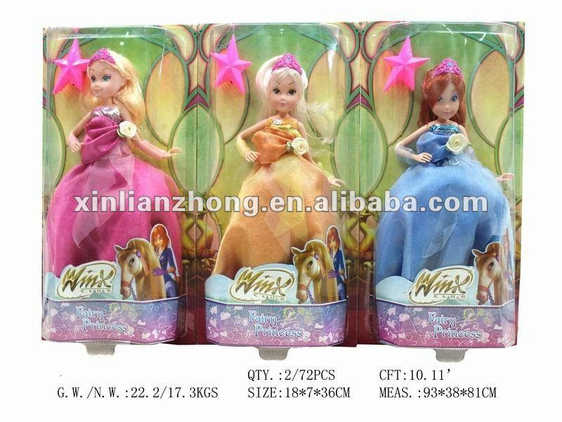 2012 Hottest 3D winx dolls KAT82480