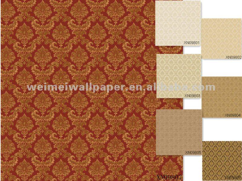wall paper -3D PVC wallpaper