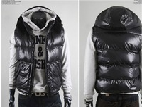 Wholesale - Winter's Mens Cotton Hoodie Vest 6A20
