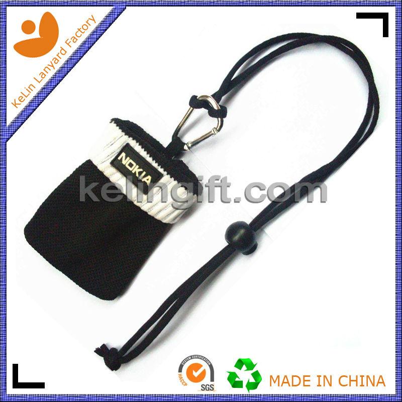 mobile phone lanyard, Sock-shaped holder lanyard