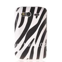 Чехол для для мобильных телефонов ZEBRA STRIPE HARD LEATHER RUBBER BACK CASE COVER FOR WILDFIRE S 2 G13