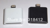 Адаптер для мобильных телефонов 5pcs/lot 8 Pin to 30 Pin Connector Adapter for Iphone5 5th & drop shipping