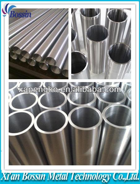 Best price titanium tube with sample in stock