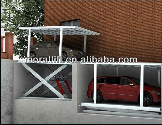 Stockage de voitures garage souterrain ascenseur ponts for Ascenseur voiture garage