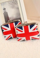 Free Shipping Britain National Flag Printing  Coin Bag, Wallet,  Competitive With Great Quality
