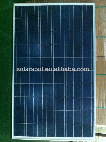 hot sale 250w amorphous polycrystalline cell solar panels 250 watt price