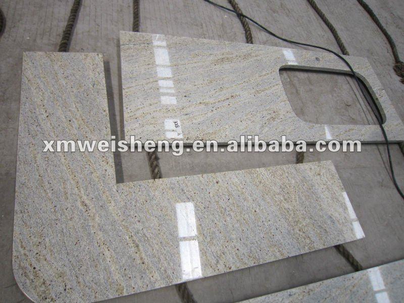 Cachemire granit blanc cuisine plan de travail comptoirs - Plan de travail marbre blanc ...