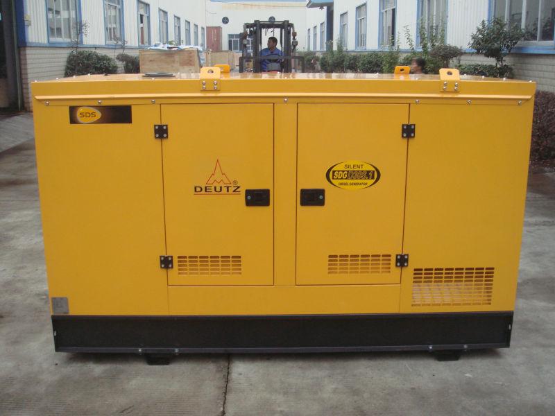 50hz D engine 50kva silent diesel power generators