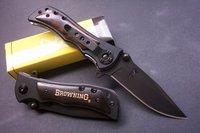 NEW Browning Ebony Wood Folding Pocket Knife BR339B