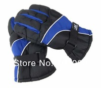 Free Shipping Thicken Winter Ski Gloves Wind-resistant Riding Gloves Snowboard Motorcycle Gloves