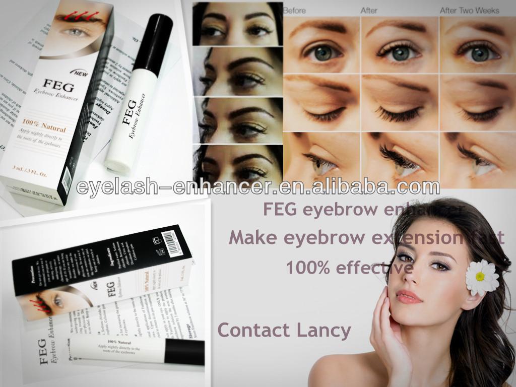 Natural eyebrow enhancer/ herbal effective eyebrows extension/ eyebrow cosmetic
