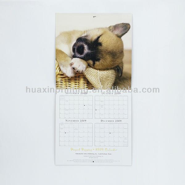 2014 Custom Wall Calendar Printing