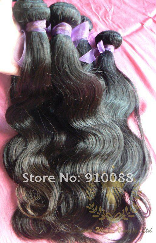 16``/18``/20``/22`` Brazilian Virgin Hair Queen Weave Beauty non dyed virgin hair extensions no tangle and minimum shedding hair