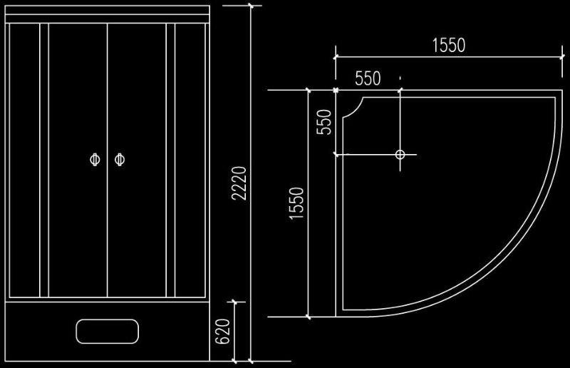 Luxury bathroom steam generator JS-8920