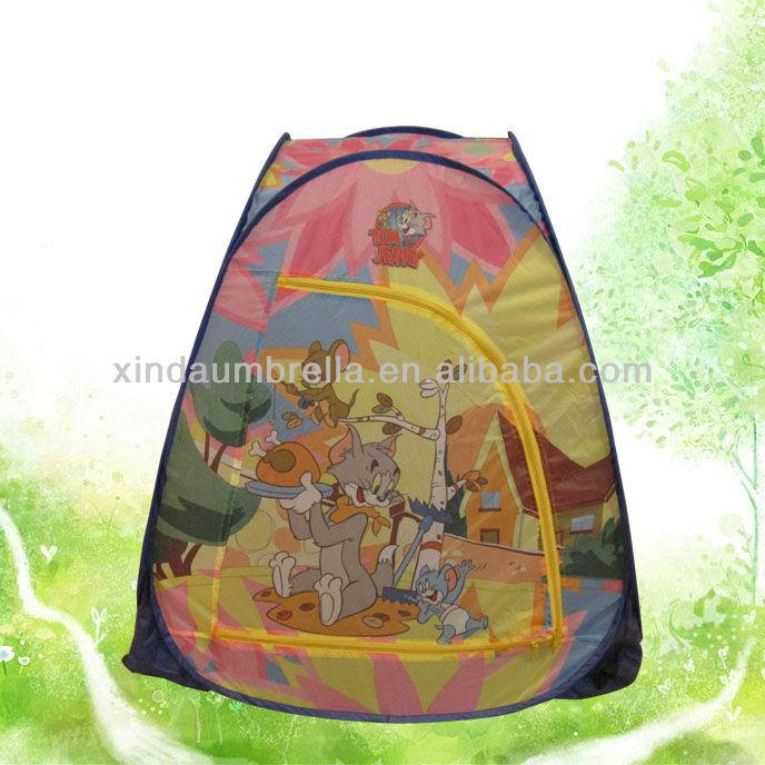 poliestere tessuto tenda bambini con stampa incantevole