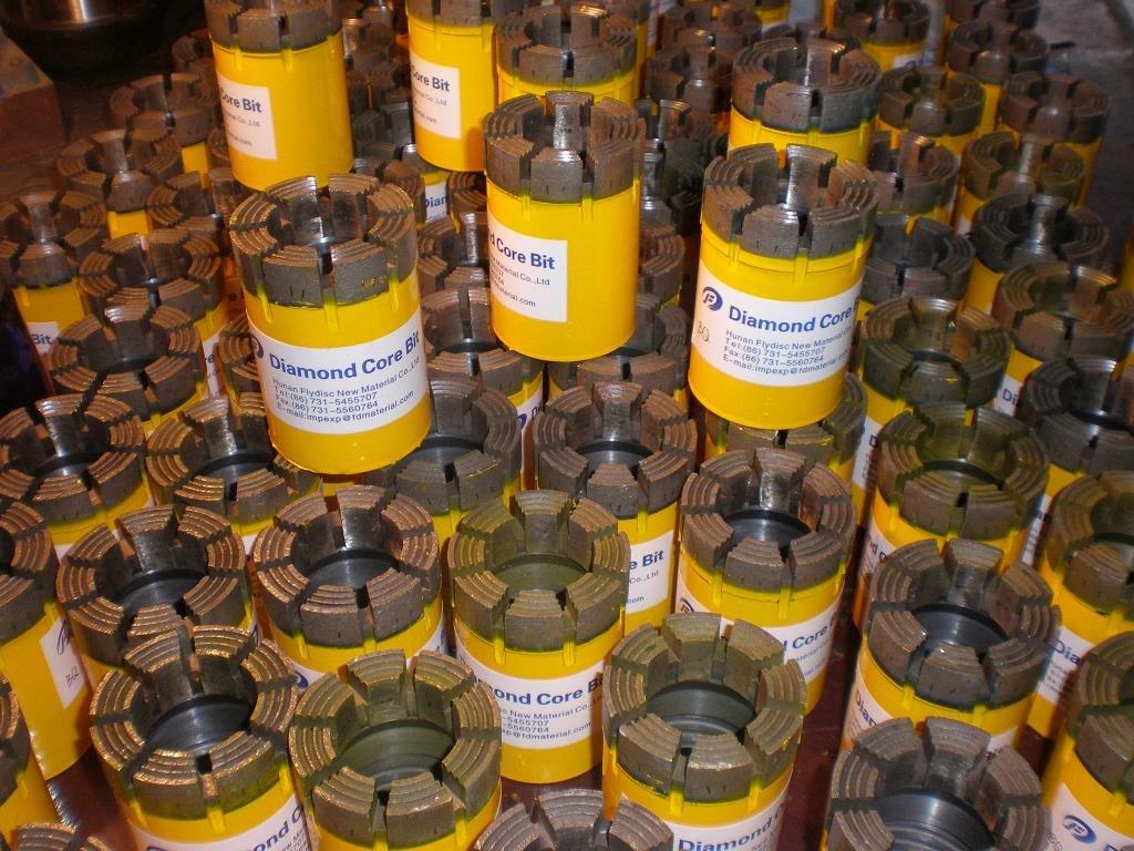 China Impregnated Diamond Core Drill Bits