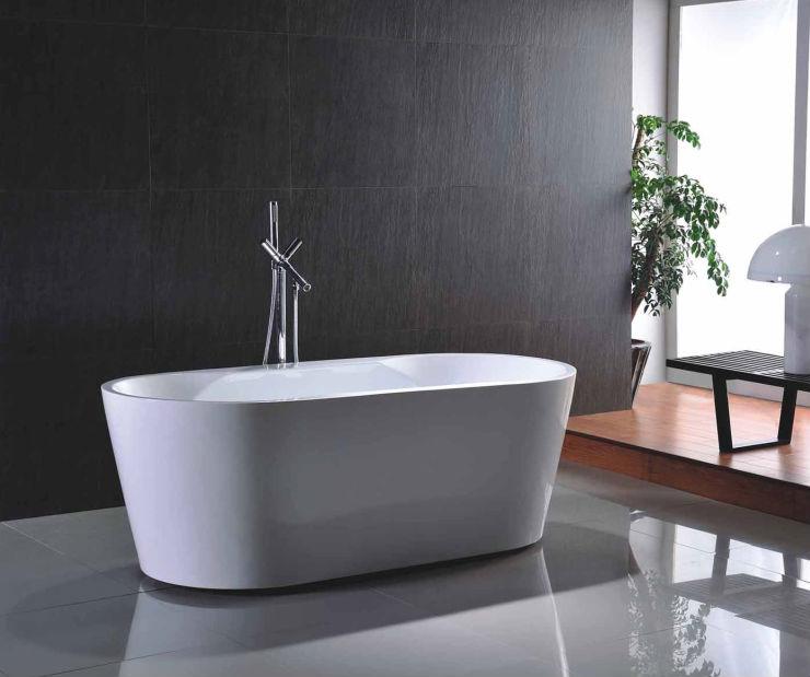Popular in France Baignoire Acrylic Bathtub made in Hangzhou Zhejiang China