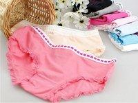 Женские трусики Elegant cat lace cotton underwear lady's triangular pants
