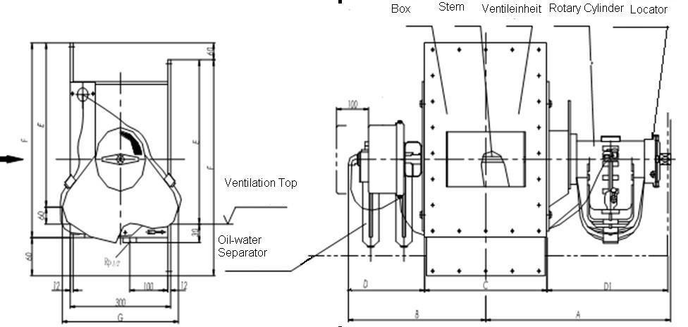 Pneumatic Flow Control Gate for Silo Bottom (P3 Locator)