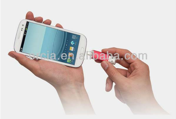 HOT!2013 newest usb OTG usb flash drive 4gb 8gb 16gb 32gb