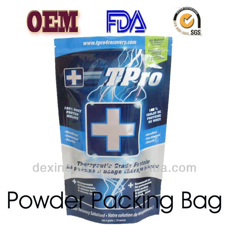 PET+ALU+PE Foil Zip Lock Bag Snack Packing Bag