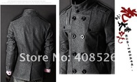 dropSHIPPING /2012 / fashion/men's clothing/LiLing/badges design/leisure coat/jacket Trench Coat 3300
