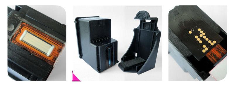 De impressora remanufaturados cartucho de tinta para hp 61xl hp 61 com mostrar tinta cheio