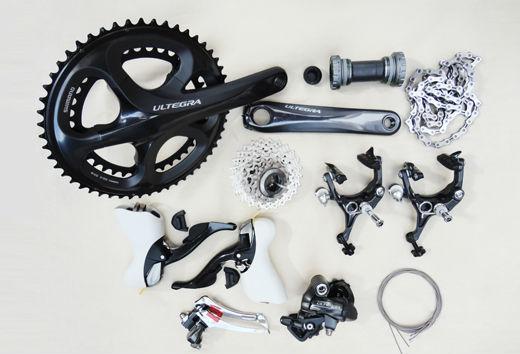 Ultegra 6700 road bike groupset with 20 speed