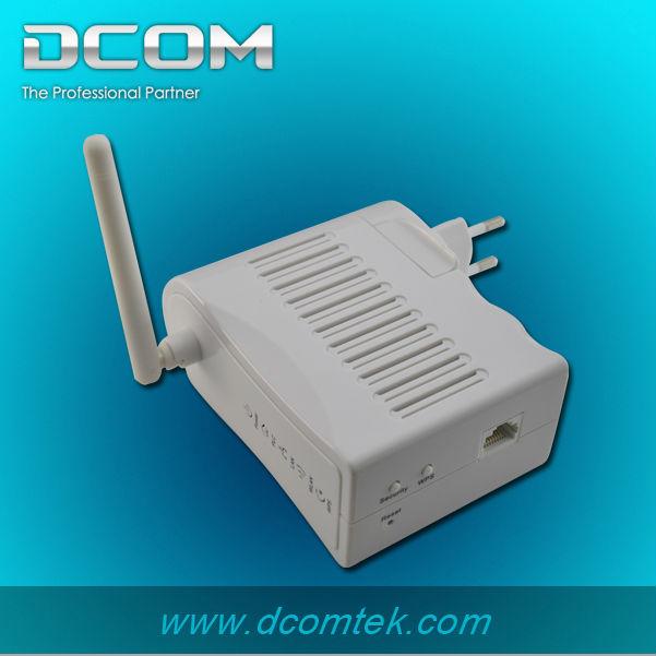 200M Wallmount Wireless Powerline network homeplug ethernet adapter