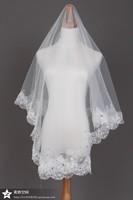 свадебное платье аксессуары Фата головной убор кружева свадебные veilnew