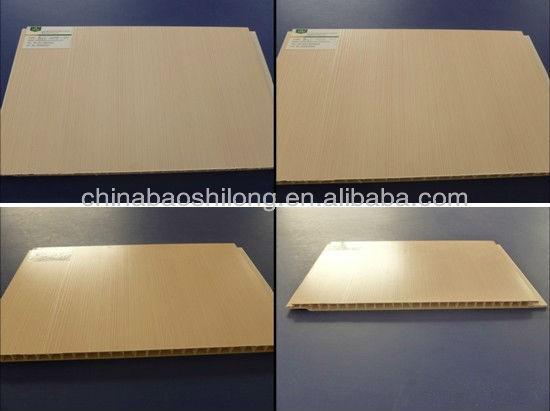 Lebanon 2012 hot design of pvc wall panels laminated surface