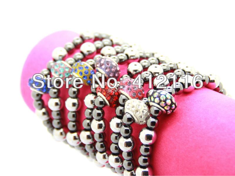 Red Hematite Beads Beads Shamballa Bracelets