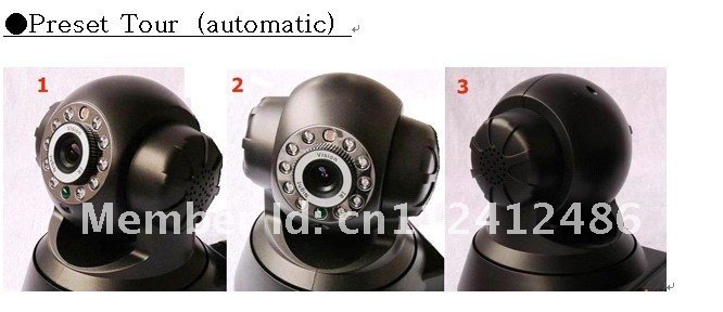 H.264 IP Camera P2P wireless P/T IR-CUT TI Scheme Mobile Monitor support for iphone/Android/Symbian/BlackBerry/Windows