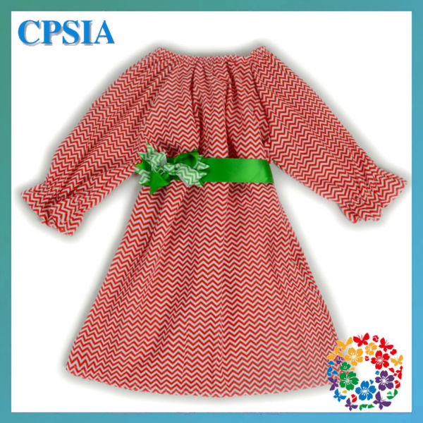 floral flowers girl dress for wedding 100% cotton candy clothing brand chistmas chevron dresses for girls